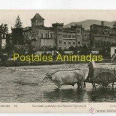 Postales: SEO DE URGEL - FACHADA POSTERIOR DEL PALACIO EPISCOPAL - MARAVILLA Nº22 - ANIMADA. Lote 53039943