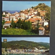 Postales: 3 POSTALES DIERENTES DE BAGUR (COSTA BRAVA), SIN CIRCULAR. Lote 53045180