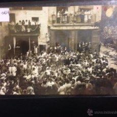 Postales: SALLENT - BALLADETES DE PLAÇA DE LA VERDURA - FESTA DEL BARRI 1915 - FOTOGRAFICA - (39064). Lote 53067202