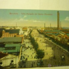 Postales: BARCELONA -MARQUES DEL DUERO -PARALELO .--BB. Lote 53173484