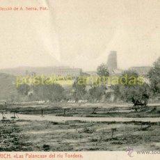 Postales: HOSTALRICH - LAS PALANCAS DEL RIU TORDERA - THOMAS Nº6. Lote 53193131