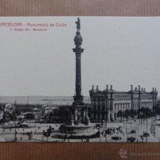 Postales: BARCELONA - MONUMENTO A COLON. Lote 53366271