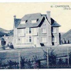Postales: GIRONA CAMPRODON XALET CARULLA . FOTOTIPIA THOMAS. SIN CIRCULAR. Lote 53436349