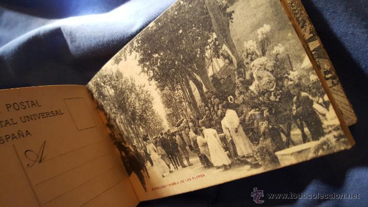 Postales: POSTAL - BARCELONA, LOTE DE 24 TARJETAS POSTALES ANTIGUAS, SIN USO, COMO NUEVAS - Foto 9 - 53566334