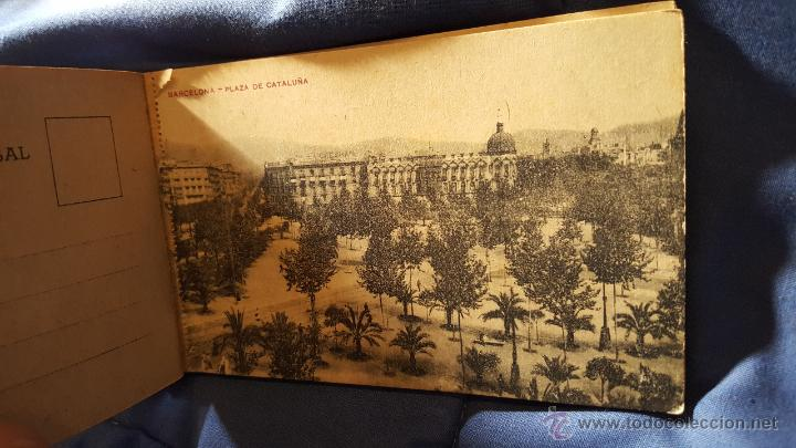Postales: POSTAL - BARCELONA, LOTE DE 24 TARJETAS POSTALES ANTIGUAS, SIN USO, COMO NUEVAS - Foto 23 - 53566334