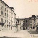 Postales: POSTAL 17. VICH. PLASSA DE LA CATEDRAL. CA. 1910. FOTOTIPIA THOMAS (1039). SIN CIRCULAR. Lote 53672874