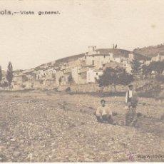 Postales: POSTAL FOTOGRÁFICA RIUDECOLS -TARRAGONA- AÑO 1922 --------POSTAL EXCELENTE-------. Lote 53724345