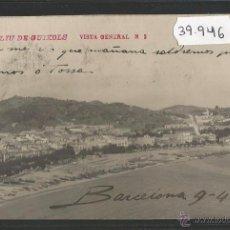 Postales: SANT FELIU DE GUIXOLS - VISTA GENERAL - FOTOGRAFICA - (39946). Lote 53734149