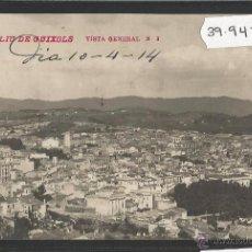 Postales: SANT FELIU DE GUIXOLS - VISTA GENERAL - FOTOGRAFICA - (39947). Lote 53734155