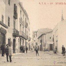 Postales: POSTAL 371. SITGES. CAP DE LA VILA. CA. 1910. A. T. V. SIN CIRCULAR. Lote 53749790