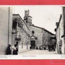 Postales: SANT ANTONI DE VILAMAJOR. 8 PLAÇA DE L'ESGLESIA. C. MAURI. Lote 53769333