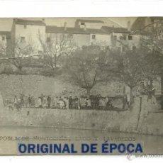 Postales: (PS-47380)POSTAL FOTOGRAFICA DE POBLA DE MONTORNES(TARRAGONA)-LAGO Y LAVADEROS. Lote 53818506