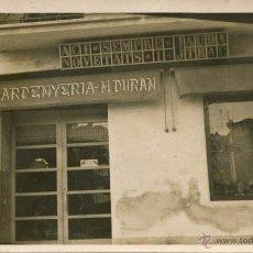 Postales: TARRAGONA-TIENDA ESPARDENYERIA-M. DURAN-MUY RARA. Lote 53834797