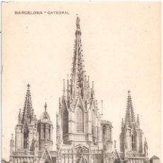 Postales: BARCELONA CATEDRAL. Lote 53835416