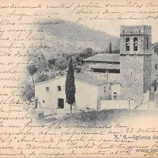 Postales: IGLESIA DE VALLVIDRERA (BARCELONA).. Lote 53905452