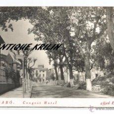 Postales: EL FIGARÓ .- CONGOST HOTEL .- POSTAL FOTOGRAFICA CLIXE ROCA. Lote 54021044