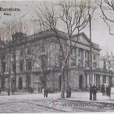 Postales: TARJETA POSTAL DE BARCELONA. BOLSA.. Lote 54044153