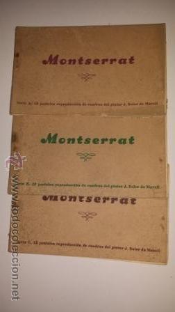 MONTSERRAT (Postales - España - Cataluña Antigua (hasta 1939))