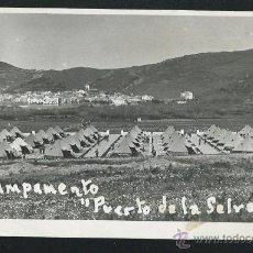 Postales: CAMPAMENTO PUERTO DE LA SELVA.. Lote 54199194