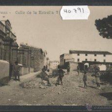 Postales: LLORENÇ - J.B. 7 - CALLE DE LA ESTRELLA - FOTOGRAFICA - (40791). Lote 54204035