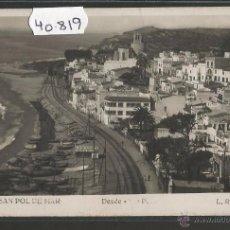 Postales: SANT POL DE MAR - 6 - FOTOGRAFICA ROISIN - (40819). Lote 54222692
