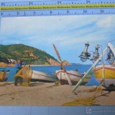 Postais: POSTAL DE GERONA. AÑO 1962. TOSSA DE MAR, RINCÓN DE PESCADORES. 814. Lote 54258021