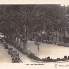 Postales: FIGUERAS (GERONA).- VISTA GENERAL DE LA RAMBLA. Lote 54260861