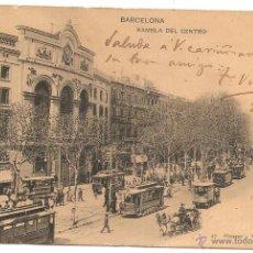 Postales: BARCELONA. HAUSER Y MENET. DORSO SIN DIVIDIR. Lote 54308050