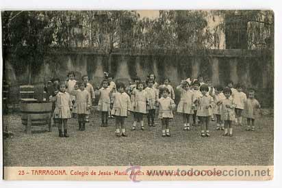 tarragona colegio jesus maria jardin de infancia juego de froebel fototipia thomas sin circular