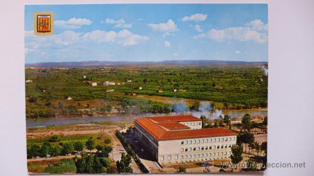 LLEIDA. INSTITUT MÀRIUS TORRES. RIU SEGRE. HORTA DE LLEIDA. INSTITUTO PROVINCIAL (Postales - España - Cataluña Moderna (desde 1940))