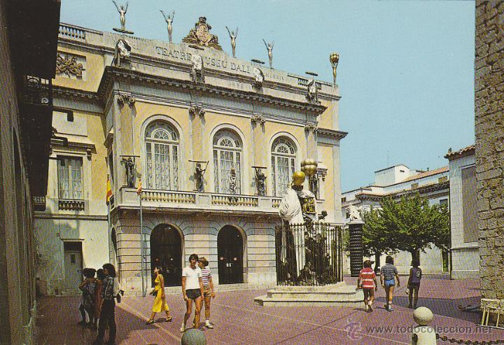 Teatro Museo Dali.Figueras Teatro Museo Dali Buy Postcards From Catalonia At
