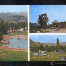 Postales: PRULLANS. *CAMPING LA CERDANYA...* ED. PUBLINTEL. CIRCULADA 1969.. Lote 54435860