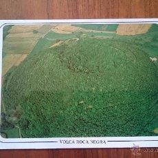 Postales: VOLCÀ ROCA NEGRA - ZONA VOLCÀNICA DE LA GARROTXA - OLOT. Lote 54534863
