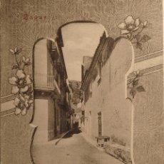 Postales: BAGUR . CARRER MAJOR ED. J. JOANOLA PALAFRUGELL (GIRONA). Lote 54680255