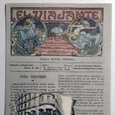 Postales: EL VIAJANTE . ED J. JOANOLA PALAFRUGELL(GIRONA). Lote 54680306