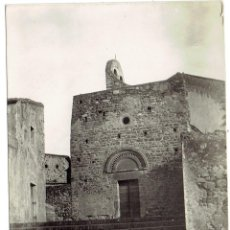 Postales: PS6381 VILAJUIGA 'FACHADA DE LA IGLESIA PARROQUIAL'. BOSCH. CIRCULADA. 1958. Lote 54684603
