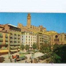 Postales: LLEIDA - PLAZA DE ESPAÑA 1960 - RAYMOND Nº9 - LERIDA CAMION. Lote 54704145