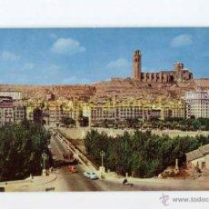 Postales: LLEIDA - EL PUENTE Y LA SEO 1960 - RAYMOND Nº2 - LERIDA. Lote 54704257