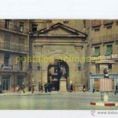 Postales: LLEIDA - ARCO DEL PUENTE 1961 - RAYMOND Nº16 - LERIDA FONDA CUATRO NACIONES GUARDIA SASTRE SOROLLA . Lote 54704421