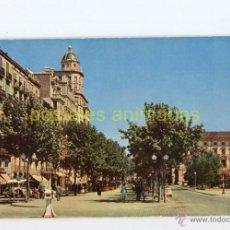 Postales: LLEIDA - AVENIDA DEL CAUDILLO 1960 - INCA Nº3 - LERIDA. Lote 54704705