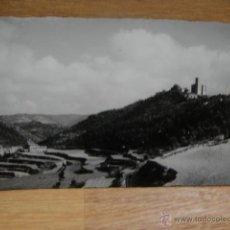 Cartes Postales: RUBIÒ - IGLESIA PARROQUIAL Y VISTA GENERAL - FOTO SOLÈ. Lote 54705578