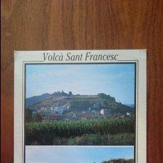 Postales: OLOT ZONA VOLCANICA LA GARROTXA - VOLCÀ SANT FRANCESC - Nº 7029 - PICART SA. Lote 54708037