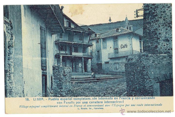 Ps6306 Llivia Pueblo Espanol Internado En Francia L Roisin Sin Circular Princ S Xx