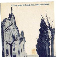 Postcards - PS6361 SAN PEDRO DE PREMIÁ 'CISA, SALIDA DE LA IGLESIA'. FERGUI. SIN CIRCULAR. PRINC. S. XX - 54557372