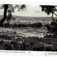 Postales: PS6289 STA. COLOMA DE FARNÉS 'VISTA GENERAL'. SIN REFERENCIAS. CIRCULADA. 1951. Lote 53803072