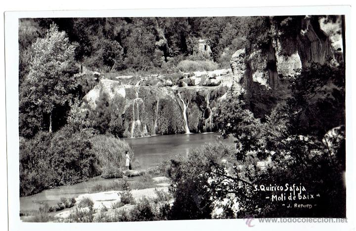 PS6045 SANT QUIRICO SAFAJA 'MOLÍ DE BAIX'. FOTOGRÁFICA. J. RENOM. CIRCULADA. 1957 (Postales - España - Cataluña Antigua (hasta 1939))