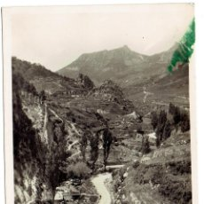 Postales: PS6048 BERGA 'PAISAJE DE LA FUENTE DEL GUIU'. HUCH. ESCRITA AL DORSO. 1953. Lote 52341680