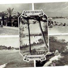 Postales: PS6052 TORREDEMBARRA 'RECUERDO DE TORREDEMBARRA'. RAYMOND. CIRCULADA. AÑOS 60. Lote 52342094