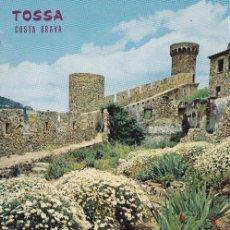 Cartoline: TOSSA DE MAR Nº 469 FLORES Y MURALLAS HISTORICAS SIN CIRCULAR FOT. CATALAN IBARZ. Lote 54811397