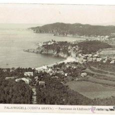 Postales: PS5277 PALAFRUGELL 'PANORAMA DE LLAFRANCH Y CALELLA'. FOTO GRANES. 1947. Lote 46150790
